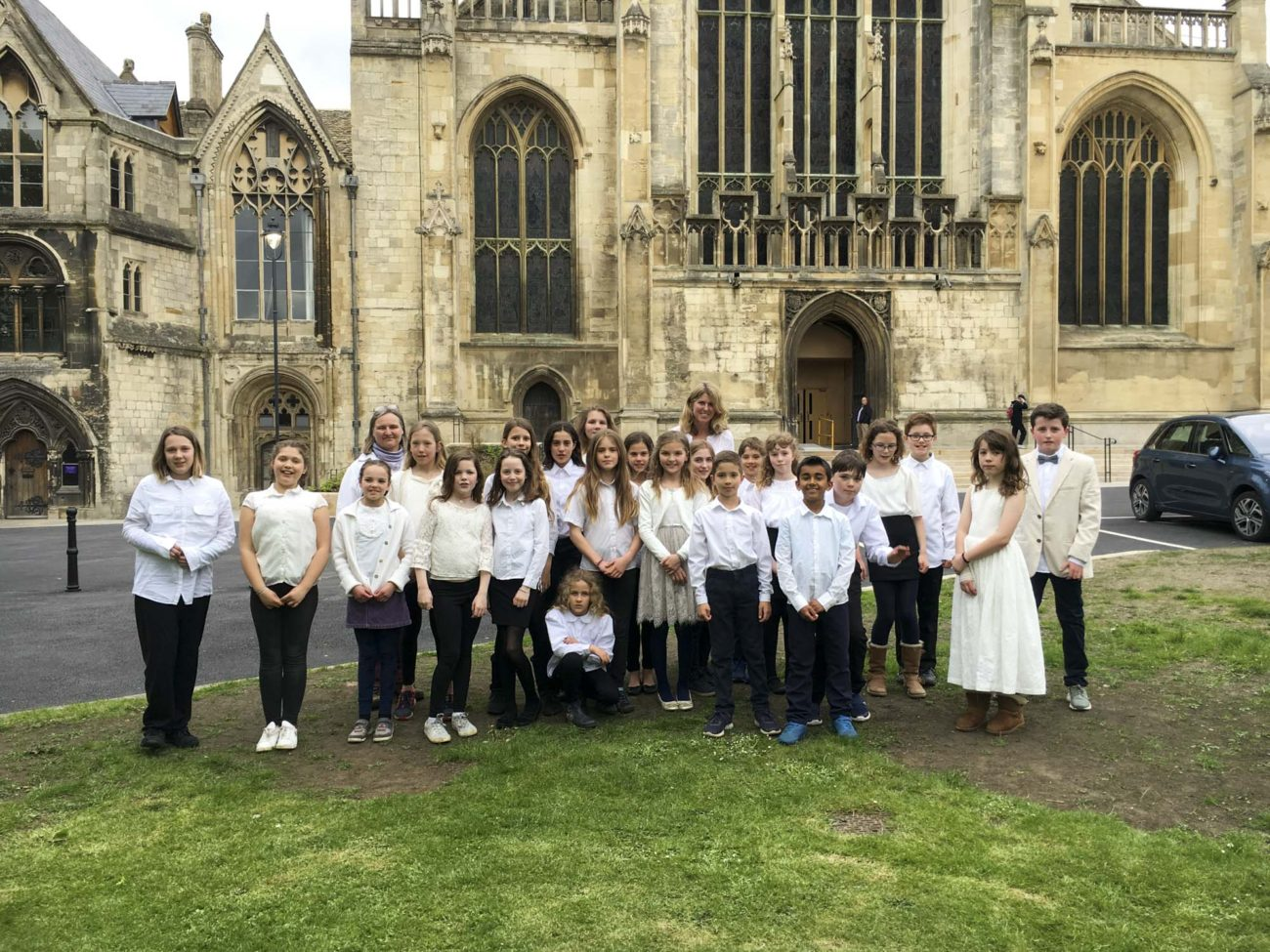 Ahoy Concert at Gloucester Cathedral with pupils from Ringwood Waldorf School and Wynstones May 2018